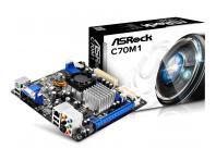 AMD ASROCK C70M1 (PLACA + MICRO DUAL)